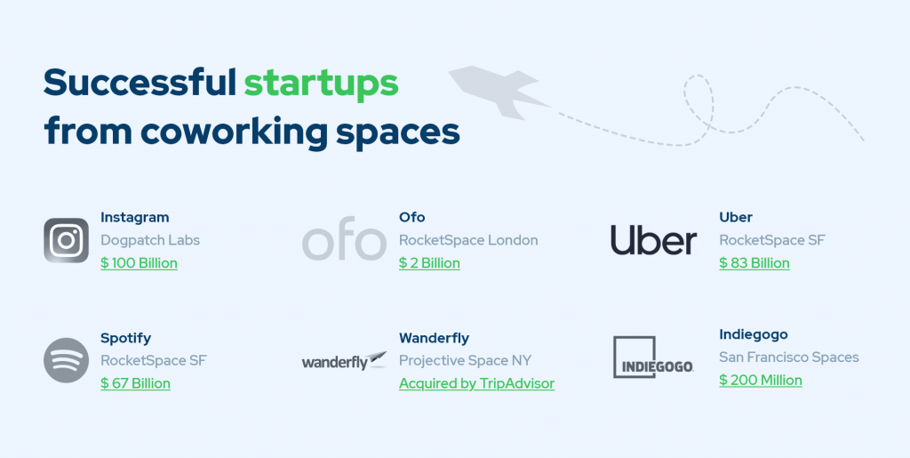 Successful Startups Infographic