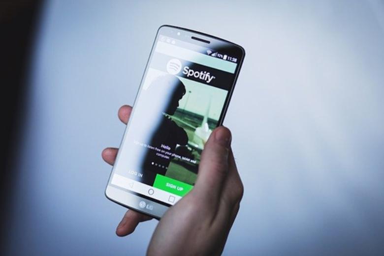 Spotify app on phone