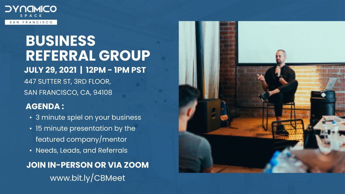July 2021 – Business Referral Group